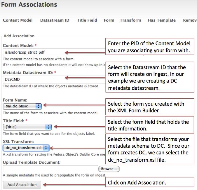 How to Edit/Create Ingest Forms - Islandora 7.x-1.1 - DuraSpace Wiki