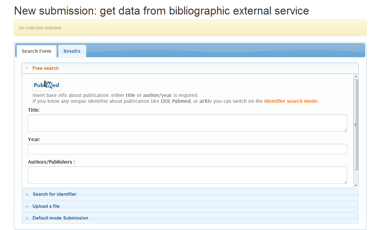 Submission User Interface - DSpace 4 x Documentation