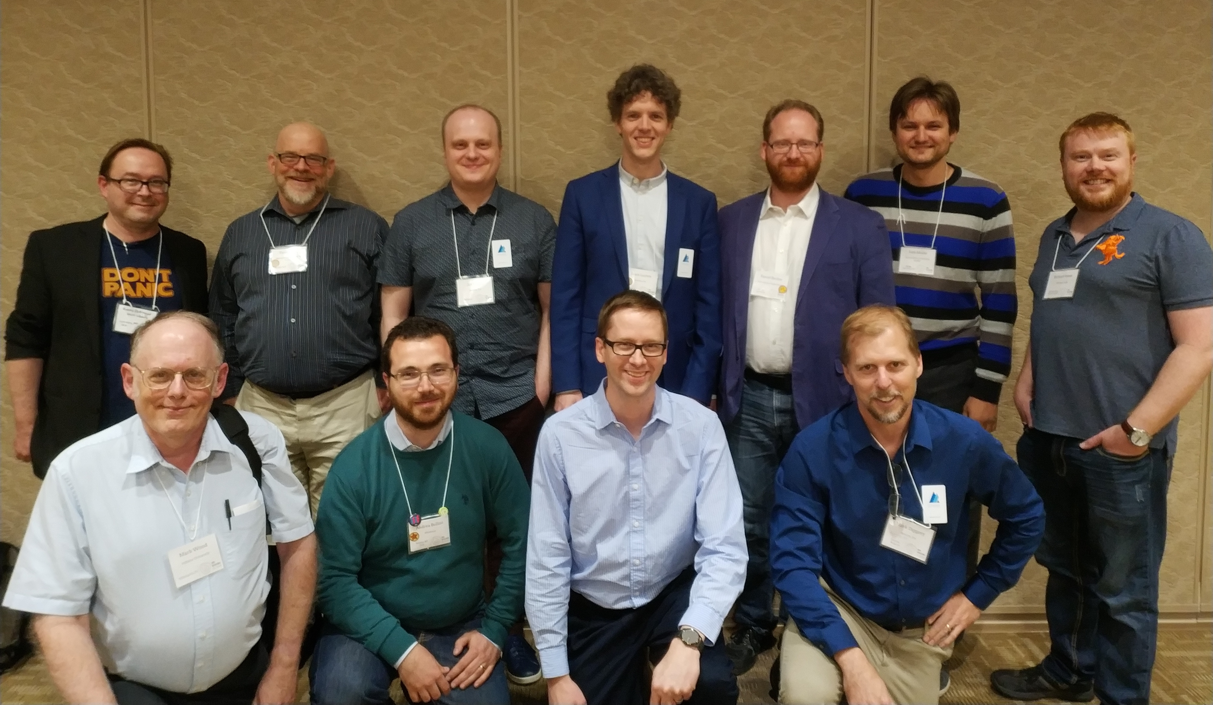 DSpace committers at the 2018 Open Repositories conference in Bozeman Montana
