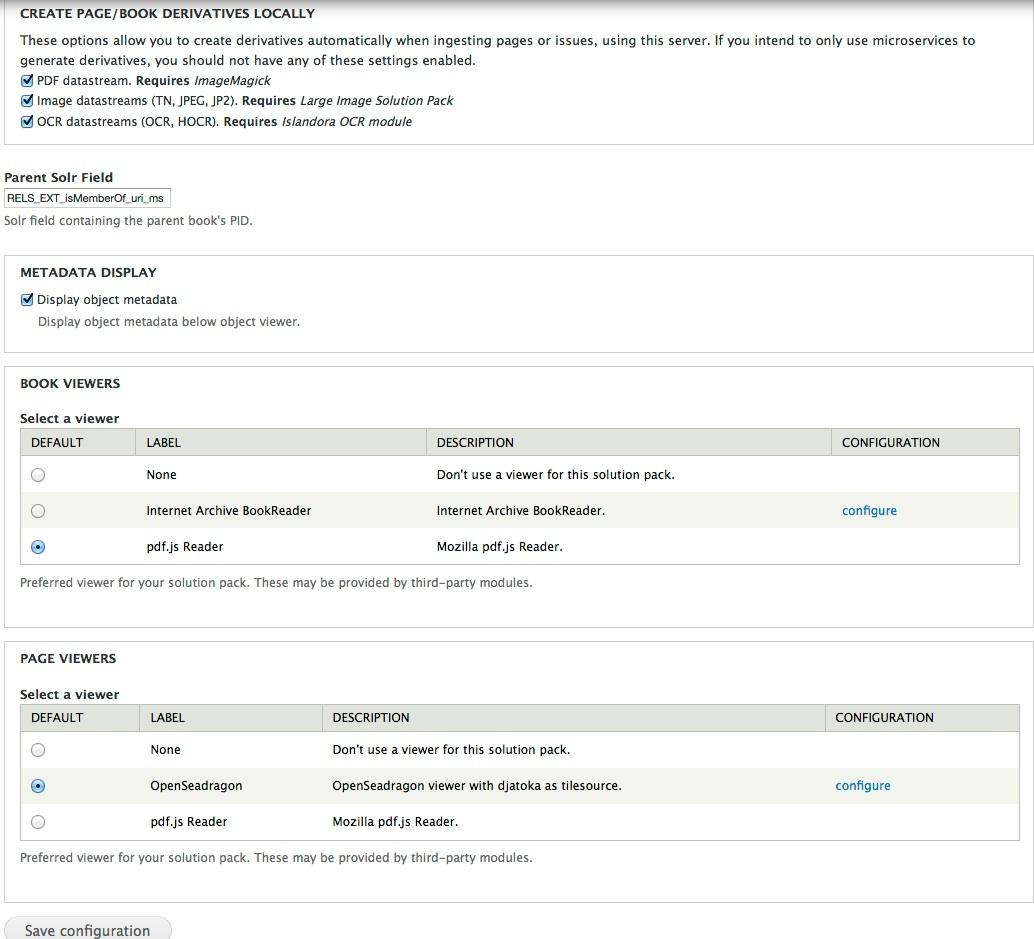 Book Solution Pack - Islandora Documentation - DuraSpace Wiki