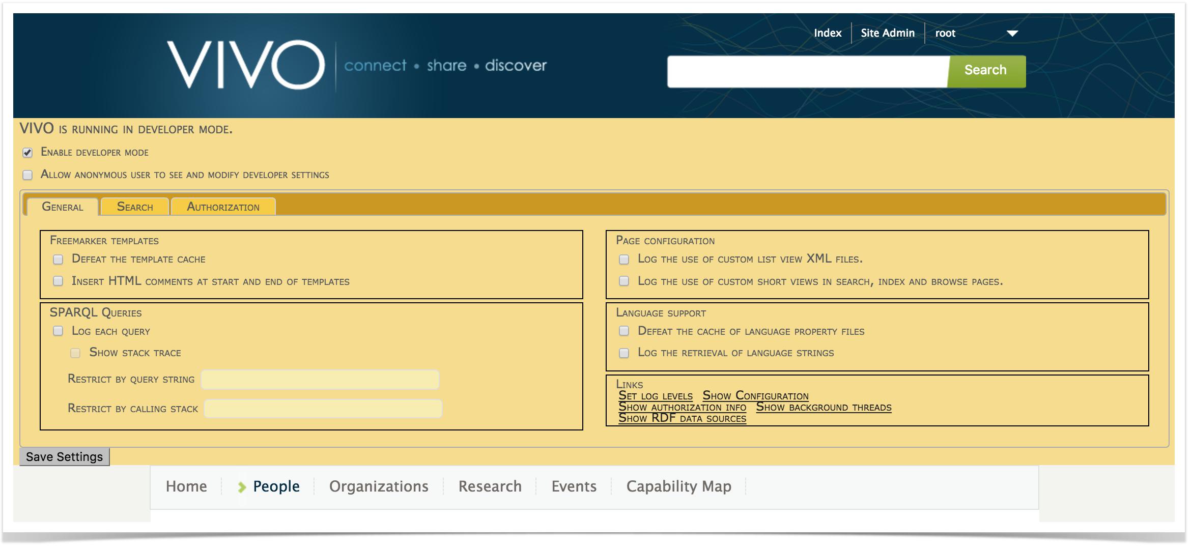 Tips for Interface Developers - VIVO 1.10.x Documentation ...